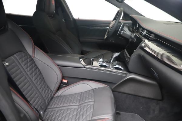 New 2022 Maserati Quattroporte Modena Q4 for sale $128,775 at Maserati of Greenwich in Greenwich CT 06830 18