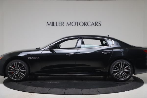 New 2022 Maserati Quattroporte Modena Q4 for sale $128,775 at Maserati of Greenwich in Greenwich CT 06830 3