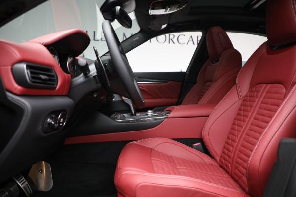 New 2022 Maserati Levante Trofeo for sale $155,045 at Maserati of Greenwich in Greenwich CT 06830 14