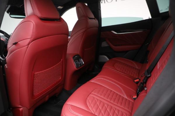 New 2022 Maserati Levante Trofeo for sale $155,045 at Maserati of Greenwich in Greenwich CT 06830 22