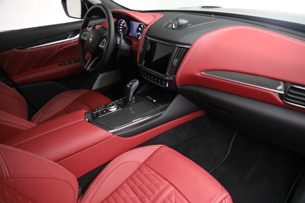 New 2022 Maserati Levante Trofeo for sale $155,045 at Maserati of Greenwich in Greenwich CT 06830 26