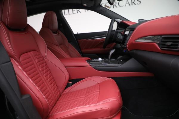New 2022 Maserati Levante Trofeo for sale $155,045 at Maserati of Greenwich in Greenwich CT 06830 27