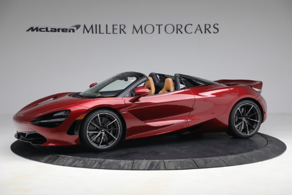 New 2022 McLaren 720S Spider for sale $382,090 at Maserati of Greenwich in Greenwich CT 06830 2