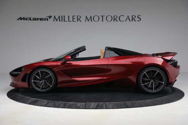 New 2022 McLaren 720S Spider for sale $382,090 at Maserati of Greenwich in Greenwich CT 06830 3
