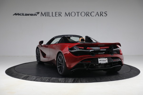 New 2022 McLaren 720S Spider for sale $382,090 at Maserati of Greenwich in Greenwich CT 06830 5