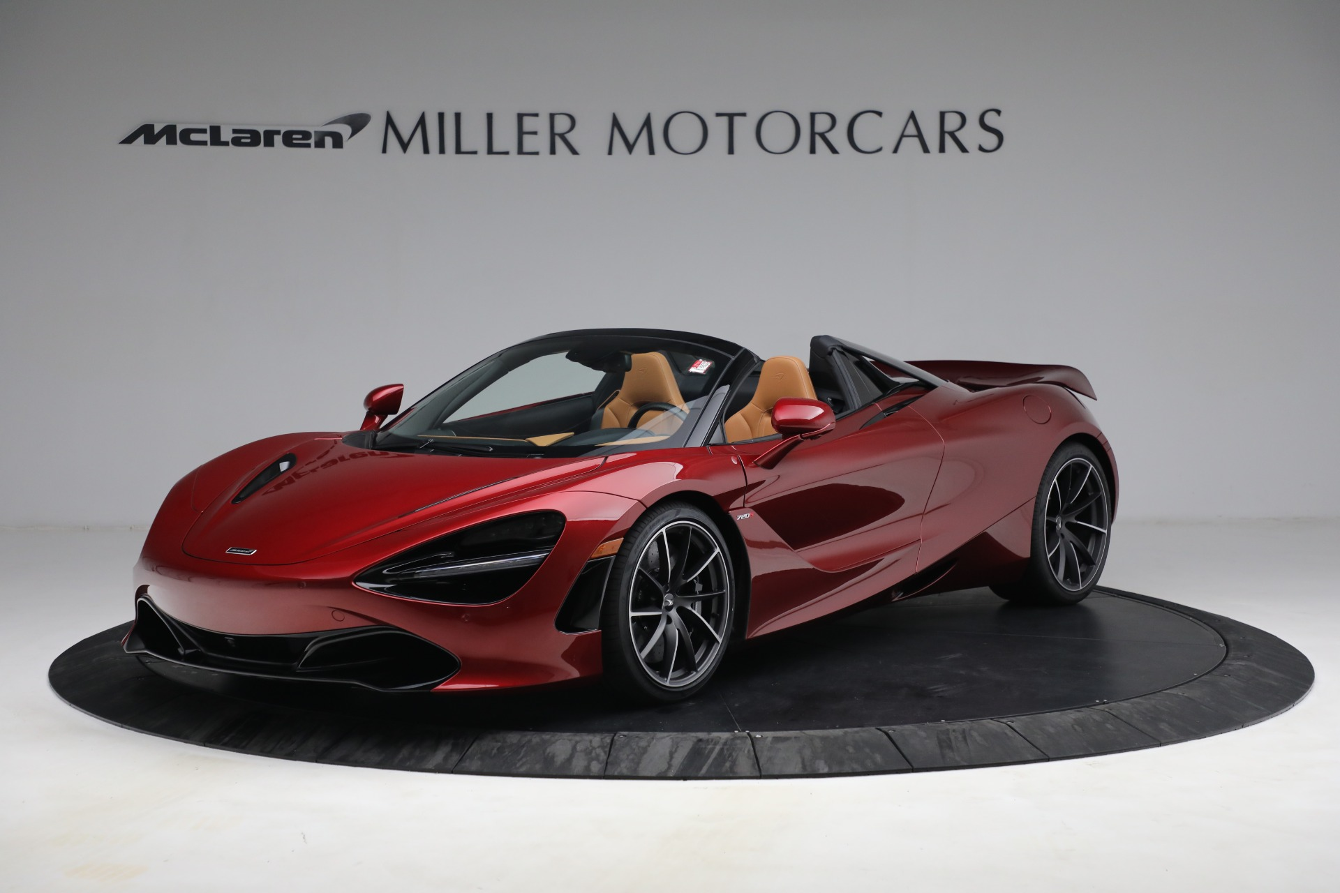 New 2022 McLaren 720S Spider for sale $382,090 at Maserati of Greenwich in Greenwich CT 06830 1