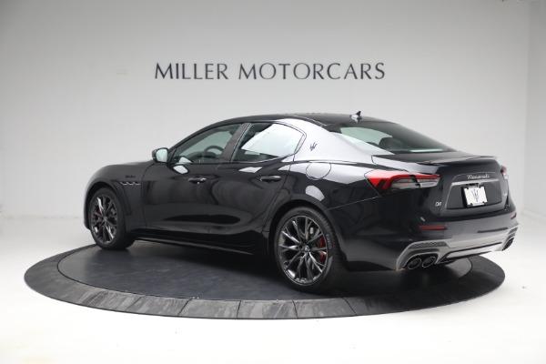 New 2022 Maserati Ghibli Modena Q4 for sale $103,855 at Maserati of Greenwich in Greenwich CT 06830 4