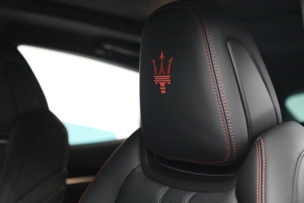 New 2022 Maserati Levante GT for sale $95,965 at Maserati of Greenwich in Greenwich CT 06830 16