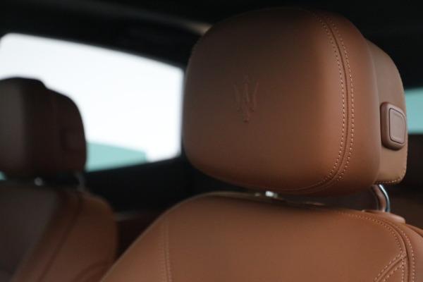 New 2022 Maserati Levante Modena for sale $104,545 at Maserati of Greenwich in Greenwich CT 06830 16