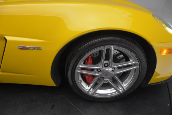 Used 2006 Chevrolet Corvette Z06 Hardtop for sale Sold at Maserati of Greenwich in Greenwich CT 06830 18
