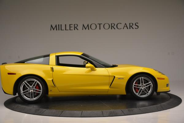 Used 2006 Chevrolet Corvette Z06 Hardtop for sale Sold at Maserati of Greenwich in Greenwich CT 06830 8