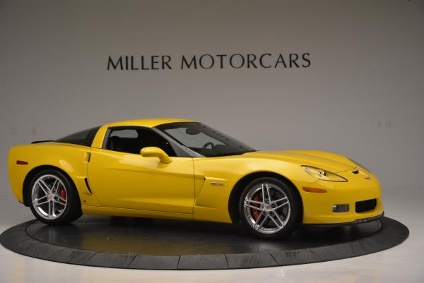 Used 2006 Chevrolet Corvette Z06 Hardtop for sale Sold at Maserati of Greenwich in Greenwich CT 06830 9
