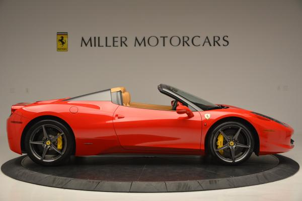 Used 2013 Ferrari 458 Spider for sale Sold at Maserati of Greenwich in Greenwich CT 06830 9
