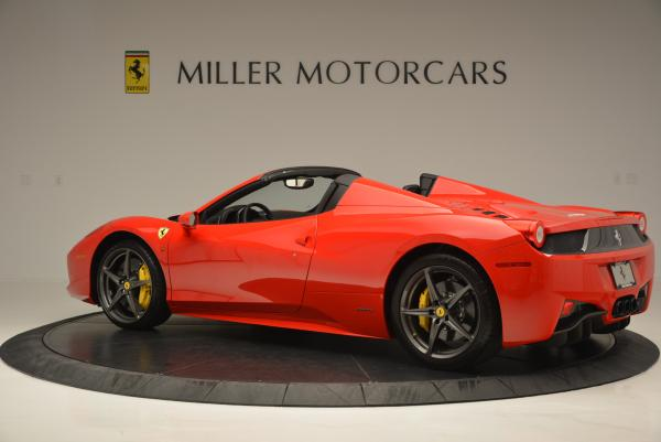 Used 2015 Ferrari 458 Spider for sale Sold at Maserati of Greenwich in Greenwich CT 06830 4