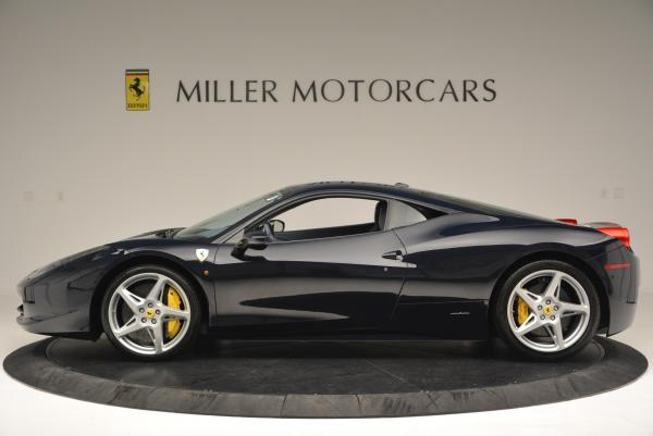 Used 2012 Ferrari 458 Italia for sale Sold at Maserati of Greenwich in Greenwich CT 06830 3