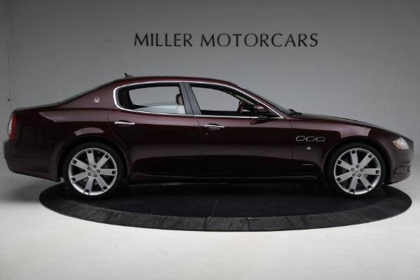 Used 2011 Maserati Quattroporte for sale $37,900 at Maserati of Greenwich in Greenwich CT 06830 10