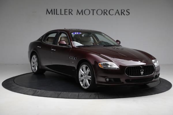 Used 2011 Maserati Quattroporte for sale $37,900 at Maserati of Greenwich in Greenwich CT 06830 12