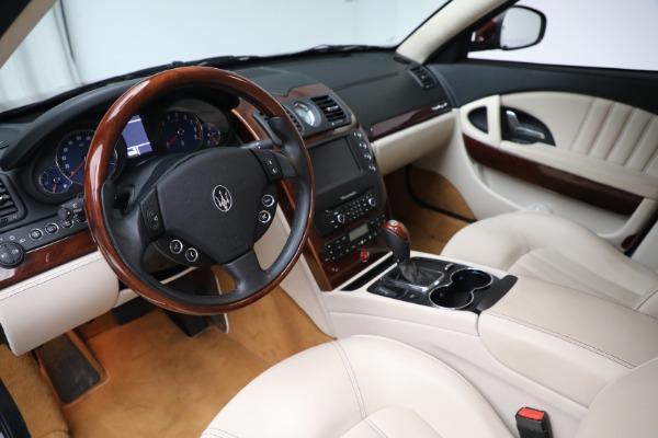 Used 2011 Maserati Quattroporte for sale $37,900 at Maserati of Greenwich in Greenwich CT 06830 14