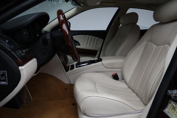 Used 2011 Maserati Quattroporte for sale $37,900 at Maserati of Greenwich in Greenwich CT 06830 15