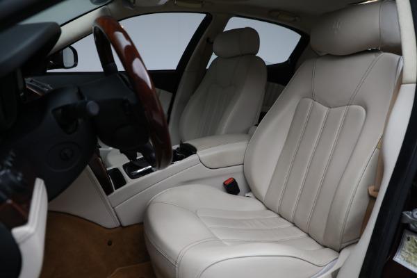 Used 2011 Maserati Quattroporte for sale $37,900 at Maserati of Greenwich in Greenwich CT 06830 16
