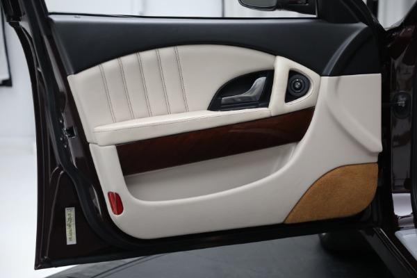 Used 2011 Maserati Quattroporte for sale $37,900 at Maserati of Greenwich in Greenwich CT 06830 17