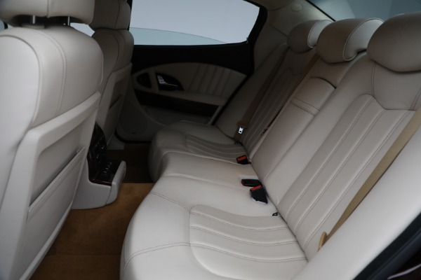 Used 2011 Maserati Quattroporte for sale $37,900 at Maserati of Greenwich in Greenwich CT 06830 19