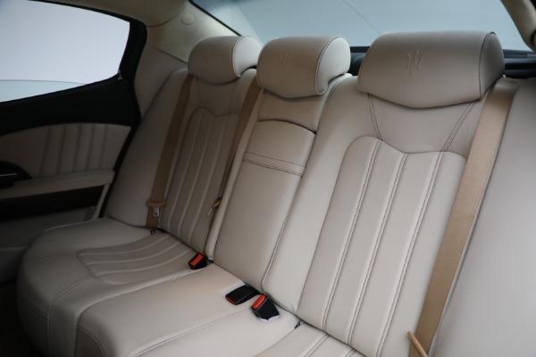 Used 2011 Maserati Quattroporte for sale $37,900 at Maserati of Greenwich in Greenwich CT 06830 20