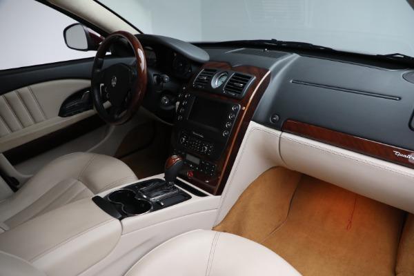 Used 2011 Maserati Quattroporte for sale $37,900 at Maserati of Greenwich in Greenwich CT 06830 22