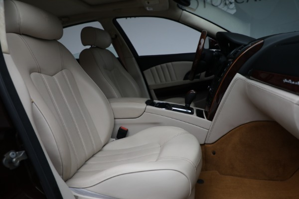 Used 2011 Maserati Quattroporte for sale $37,900 at Maserati of Greenwich in Greenwich CT 06830 23