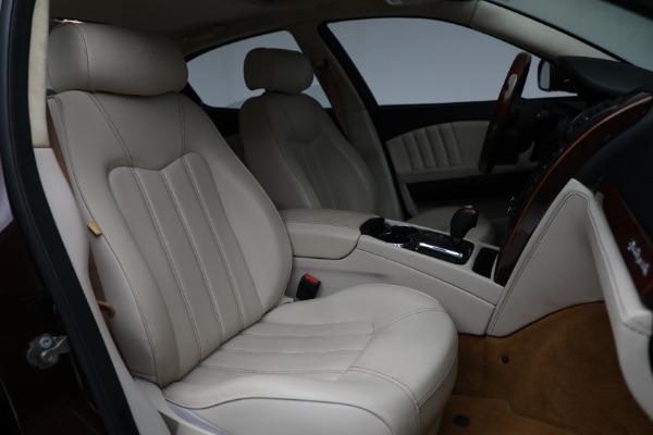 Used 2011 Maserati Quattroporte for sale $37,900 at Maserati of Greenwich in Greenwich CT 06830 24