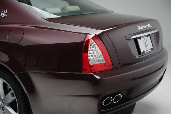 Used 2011 Maserati Quattroporte for sale $37,900 at Maserati of Greenwich in Greenwich CT 06830 25