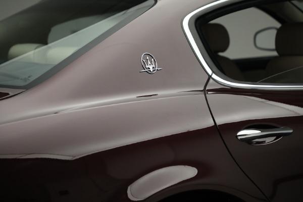 Used 2011 Maserati Quattroporte for sale $37,900 at Maserati of Greenwich in Greenwich CT 06830 26
