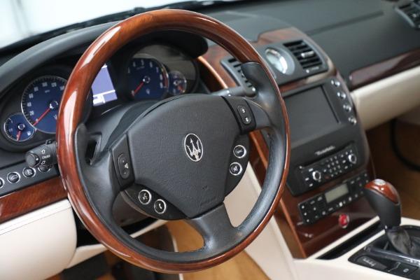 Used 2011 Maserati Quattroporte for sale $37,900 at Maserati of Greenwich in Greenwich CT 06830 27