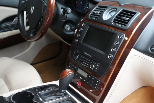 Used 2011 Maserati Quattroporte for sale $37,900 at Maserati of Greenwich in Greenwich CT 06830 28