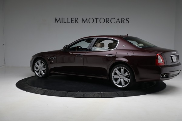 Used 2011 Maserati Quattroporte for sale $37,900 at Maserati of Greenwich in Greenwich CT 06830 5