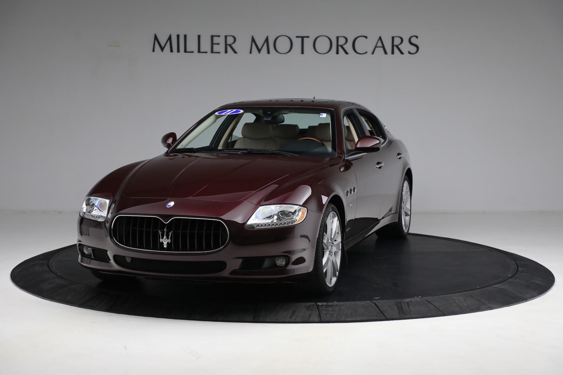 Used 2011 Maserati Quattroporte for sale $37,900 at Maserati of Greenwich in Greenwich CT 06830 1