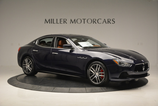 Used 2017 Maserati Ghibli S Q4 - EX Loaner for sale Sold at Maserati of Greenwich in Greenwich CT 06830 10