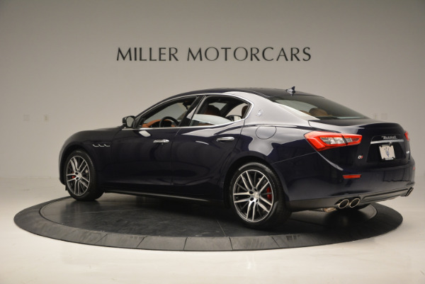 Used 2017 Maserati Ghibli S Q4 - EX Loaner for sale Sold at Maserati of Greenwich in Greenwich CT 06830 4