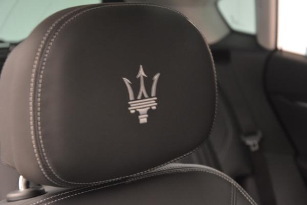 New 2017 Maserati Levante 350hp for sale Sold at Maserati of Greenwich in Greenwich CT 06830 25
