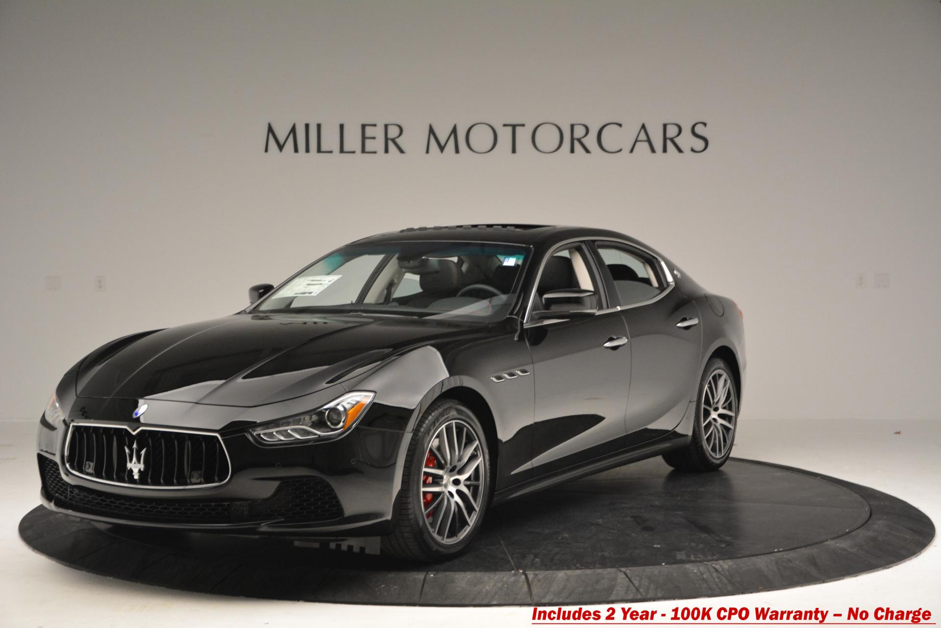 Used 2016 Maserati Ghibli S Q4 for sale Sold at Maserati of Greenwich in Greenwich CT 06830 1