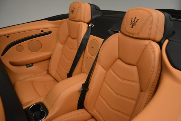 New 2017 Maserati GranTurismo MC CONVERTIBLE for sale Sold at Maserati of Greenwich in Greenwich CT 06830 26