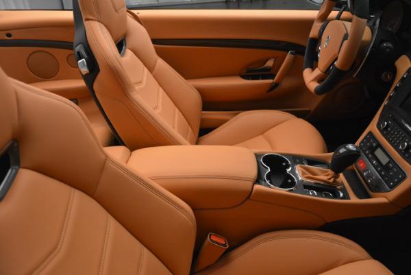 New 2017 Maserati GranTurismo MC CONVERTIBLE for sale Sold at Maserati of Greenwich in Greenwich CT 06830 28