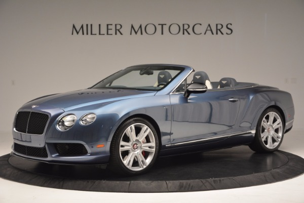 Used 2014 Bentley Continental GT V8 S Convertible for sale Sold at Maserati of Greenwich in Greenwich CT 06830 2