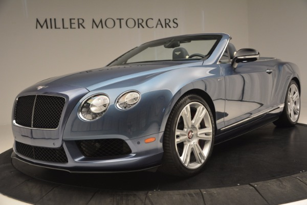 Used 2014 Bentley Continental GT V8 S Convertible for sale Sold at Maserati of Greenwich in Greenwich CT 06830 24