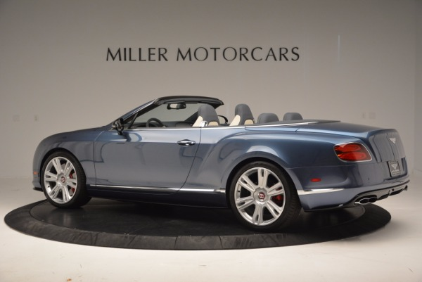 Used 2014 Bentley Continental GT V8 S Convertible for sale Sold at Maserati of Greenwich in Greenwich CT 06830 4