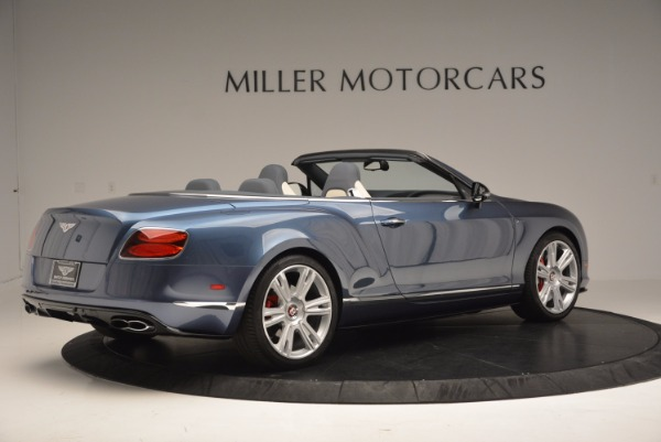 Used 2014 Bentley Continental GT V8 S Convertible for sale Sold at Maserati of Greenwich in Greenwich CT 06830 8