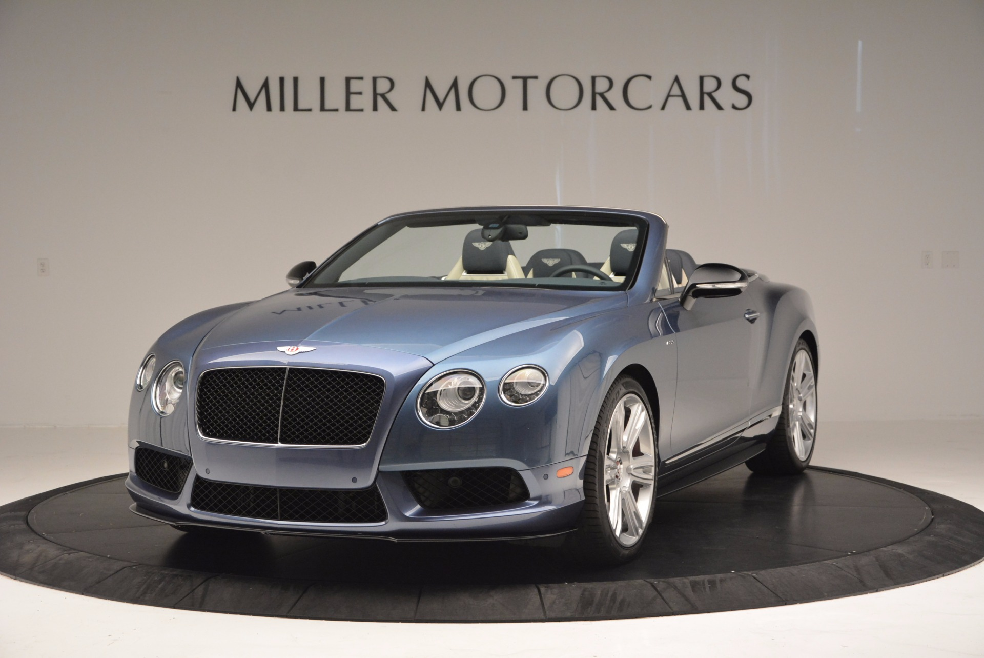 Used 2014 Bentley Continental GT V8 S Convertible for sale Sold at Maserati of Greenwich in Greenwich CT 06830 1
