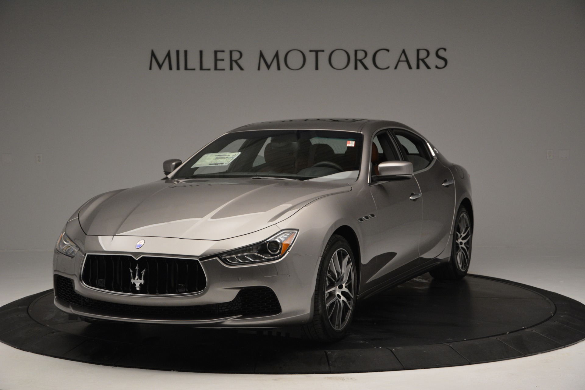 Used 2017 Maserati Ghibli S Q4 EX-LOANER for sale Sold at Maserati of Greenwich in Greenwich CT 06830 1