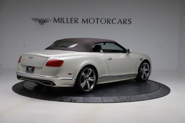 Used 2016 Bentley Continental GTC Speed for sale $149,900 at Maserati of Greenwich in Greenwich CT 06830 18