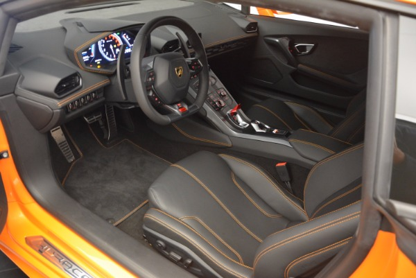 Used 2015 Lamborghini Huracan LP 610-4 for sale Sold at Maserati of Greenwich in Greenwich CT 06830 13